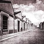 capannoni interni alla Viscosa