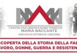 Inaugurazione ufficiale del Centro di documentazione territoriale Maria Baccante - Archivio storico Viscosa e intitolazione a Maria Baccante