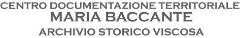 Centro documentazione territoriale Maria Baccante