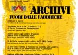 5 marzo 2016 ore 10.00 c.d.t. Maria Baccante, via Prenestina 175, Roma giornata di studio a cura del Centro di documentazione territoriale Maria Baccante - Archivio Storico Viscosa Archivi fuori dalle Fabbriche